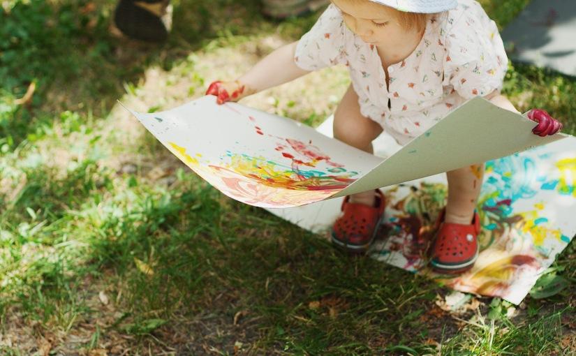 Делаем пальчиковые краски и рисуем всевместе