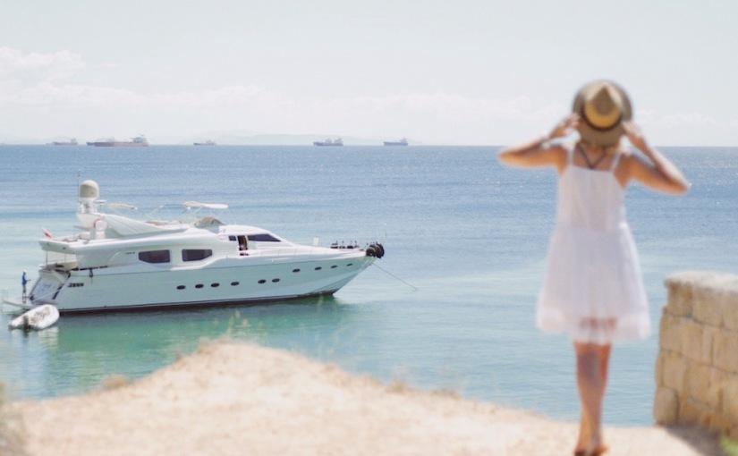 что почитать море яхта девушка лето