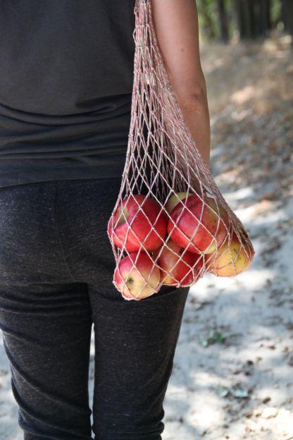 авоська для продуктов яблоки