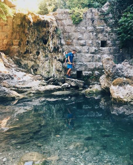 отдых в Черногории Старый Бар лагерь