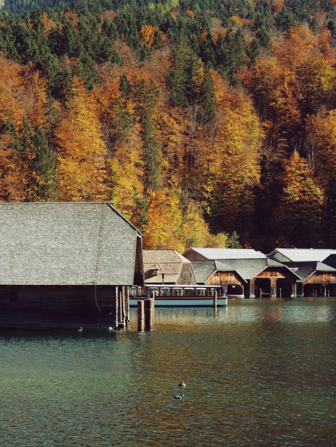 Альпы Бавария Кенингзе озеро Германия