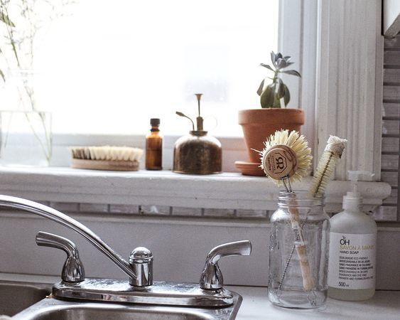щетки для мытья посуды из натуральных материалов эко советы