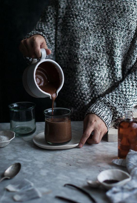 какао с черным перцем
