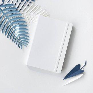 блокноты украина, zkrtk, блокноты минималистичный дизайн, блокнот белый